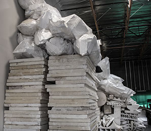 Eco Building Systems FAQ ICF/ICCF Block Dealer Alternative Building STYROFOAM RECYCLING