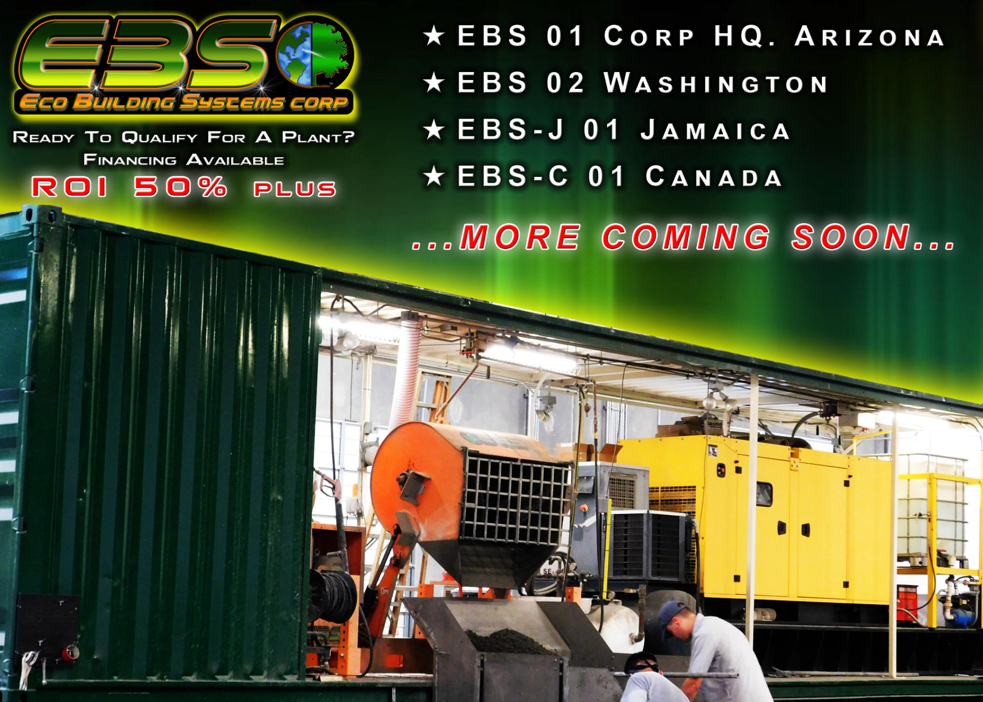 The Perfect Block Mobile ICF Plants Order Eco Building System