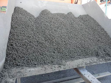 The Perfect Block Process Recycle Expanded Polystyrene (EPS) Mix with Ethylene bis stearamide (EBS)